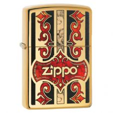 High Polish Brass Zippo Fusion Zippo Lighter